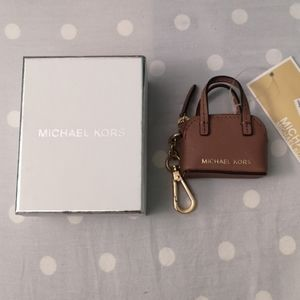 Michael Kors Mini Bag Keychain (BNWT)